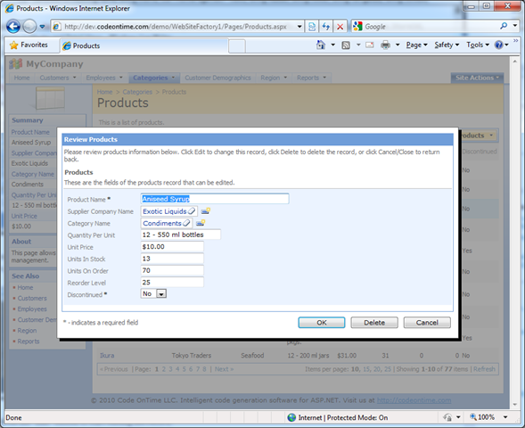 how to create a user interface in access 2010