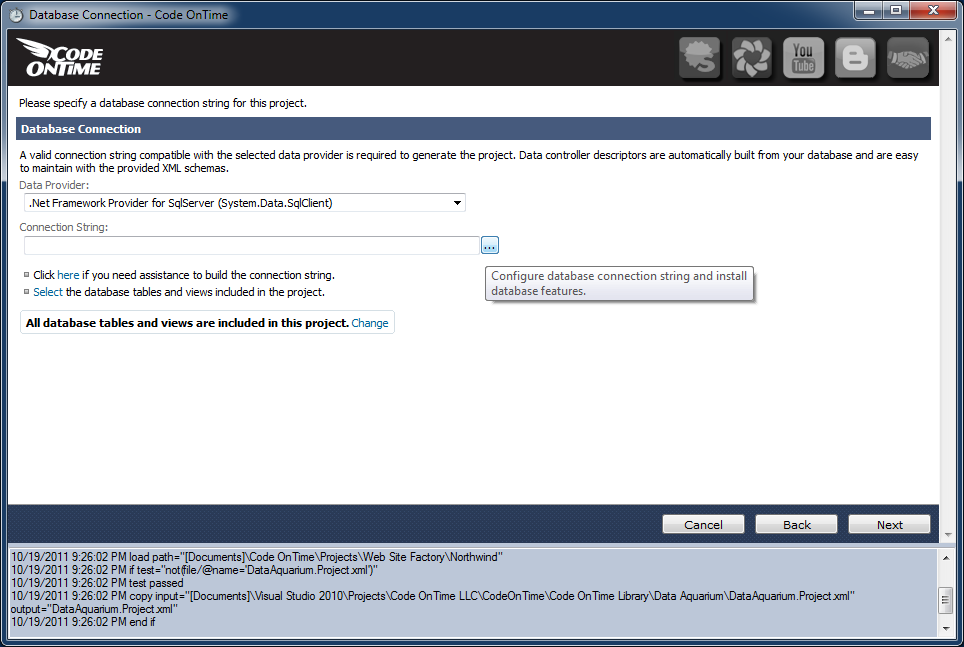 jsp program to install a database A step by step guide to using jdbc with eclipse step 1:  we install the connector/j driver so our program can connect to  permission to connect to the database.