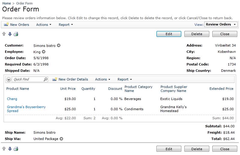 Code On Time: Custom Form Template: Creating Custom HTML ...