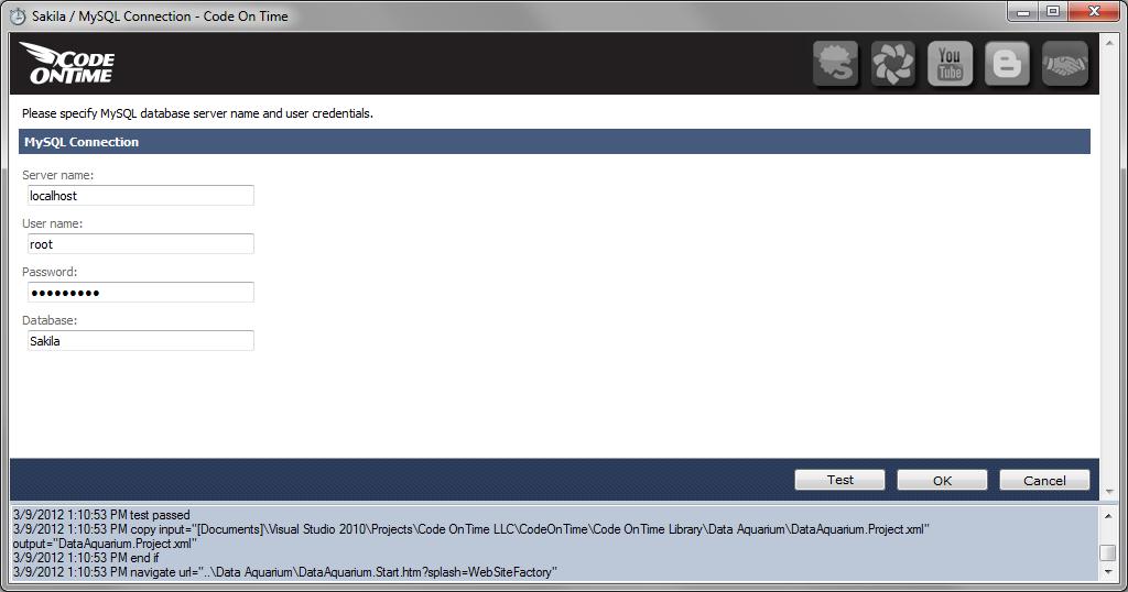 Code On Time  Sakila Sample Database