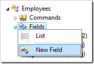 New Field for Employees controller