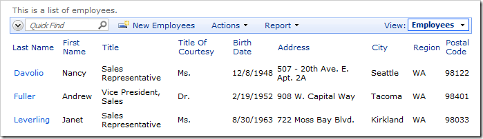 When logged in as user, the Hire Date column is not visible in the grid.