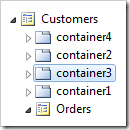 Containers on Customers page reordered.