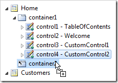 Control4 copied into container2.