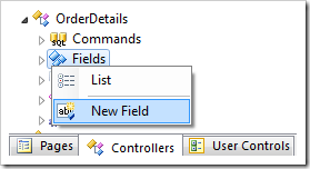 New Field for OrderDetails controller.
