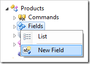 Adding a new field to Products controller.