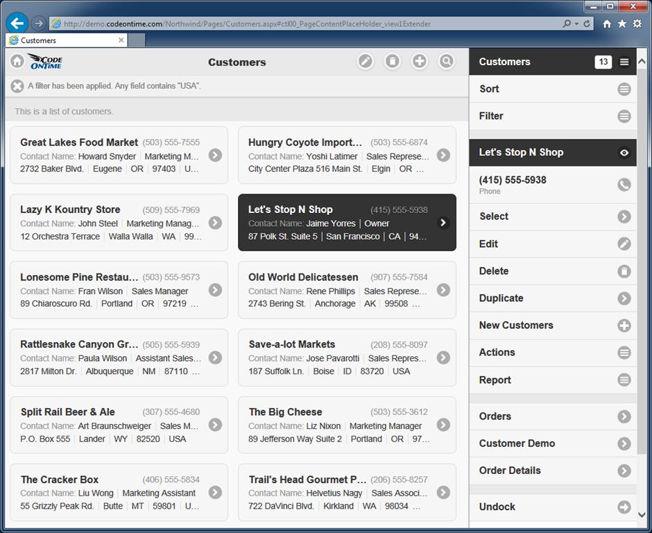 mobile de desktop version