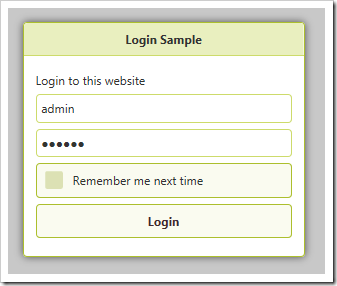 Logging into admin account with the secret password.