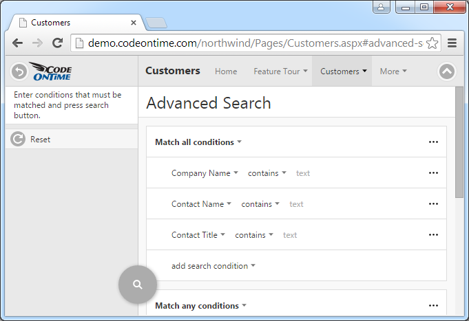 Add a Search Tab to the Ribbon - Reliance Standard