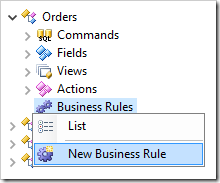 Adding a new business rule to Orders controller.
